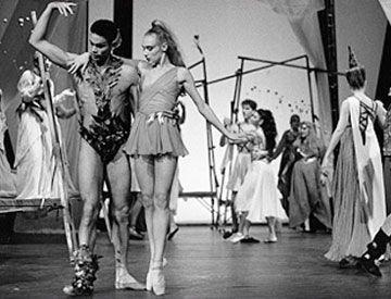 Peter Anderson und Brigitte Cohrs-Sarridis im Sommernachtstraum am Theater Aachen